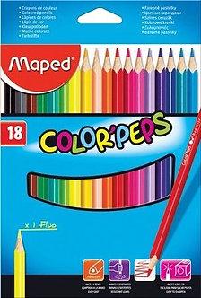 Lápis de cor Triângular
