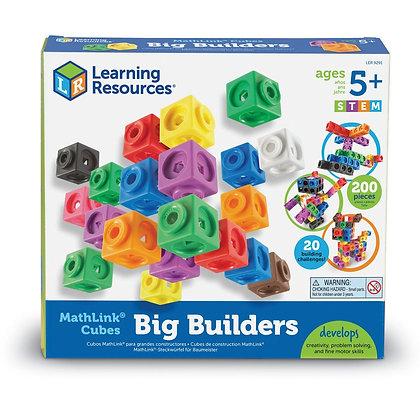 Construção com cubos grandes