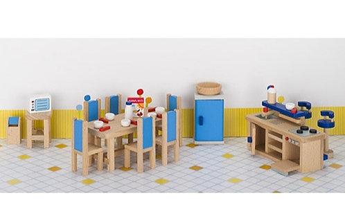Cozinha+ sala jantar