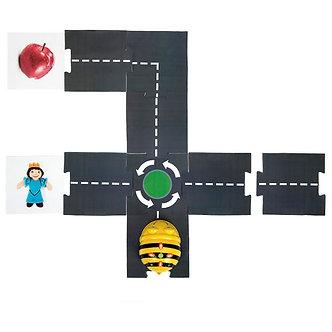 Tapete circuito robática
