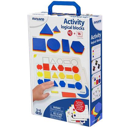 Blocos lógicos com atividade