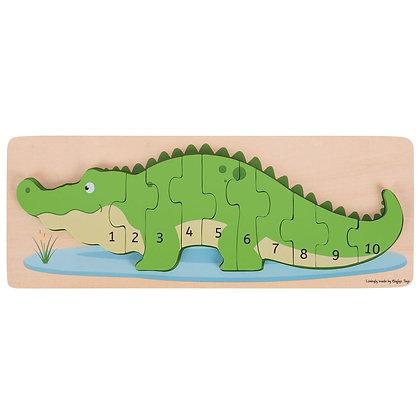 Crocodilo com Números