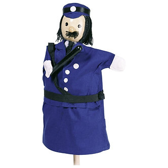 Fantoche de mão - Policia