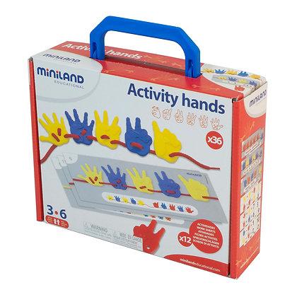 Atividades com mãos