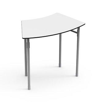 Mesa individual curva 8