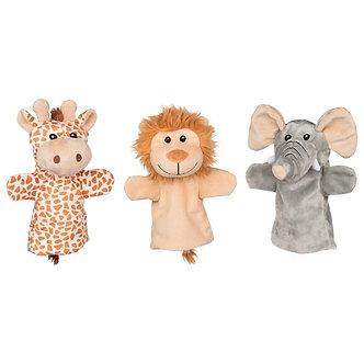 Fantoches de mão - Animais da selva