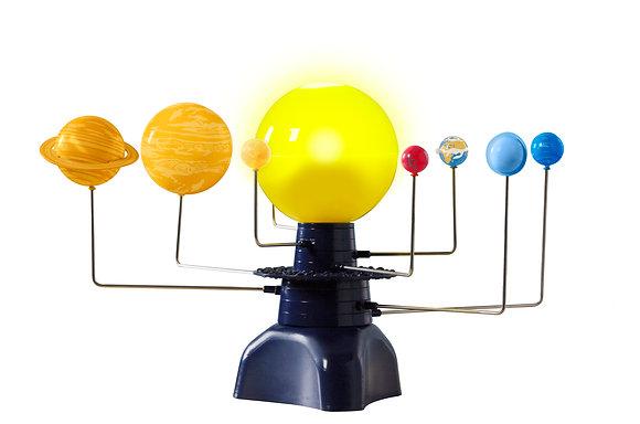 Sistema solar motorizado
