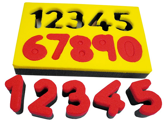 Carimbos de números