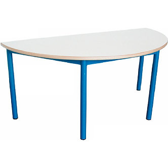 Mesa semi-circular
