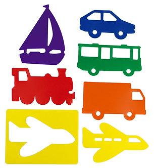 Stencils transportes