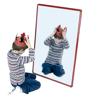 Espelho metálico em acrílico