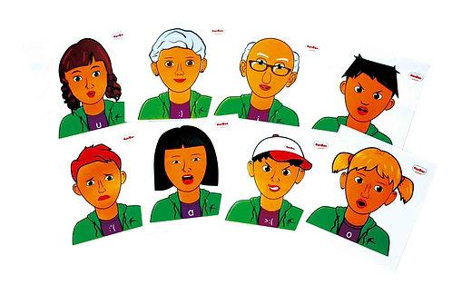 Faces e expressões