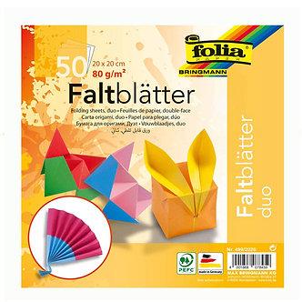 Papel dobrável origami