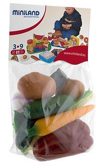 Conjunto de hortaliças