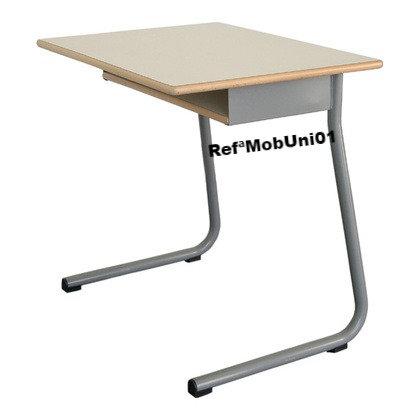 Mesa com subtampo