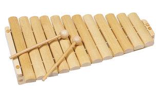 Xilofone 12 tons em madeira