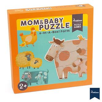 Puzzle mamãs e filhos