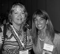 Trish with author Jane Porter