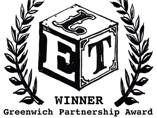 BoonDog Theatre wins the Greenwich Partnership Award!