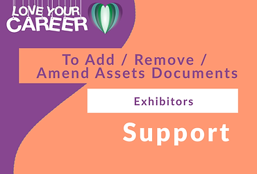To Add / Remove / Amend Assets Documents   Exhibitors