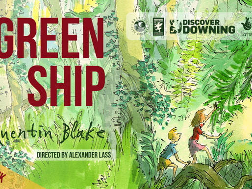 The Green Ship Sets Sail Soon!