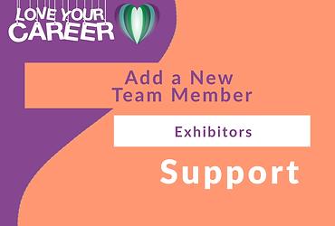 Adding a New Team Member   Exhibitors