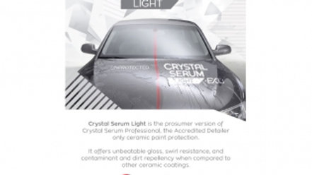 Crystal Serum Light. 5 year protection