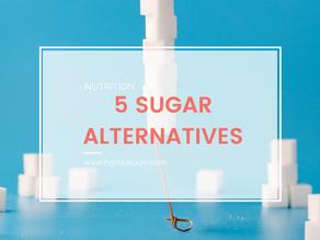 5 Sugar Alternatives