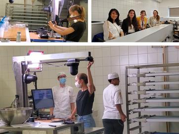 Filmagem do curso na Richemont