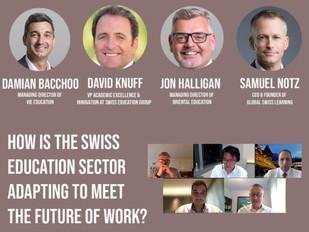 Painel de discussão online - Câmara Suíça em Hong Kong
