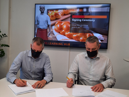 Partnership with Swiss Learning Hub