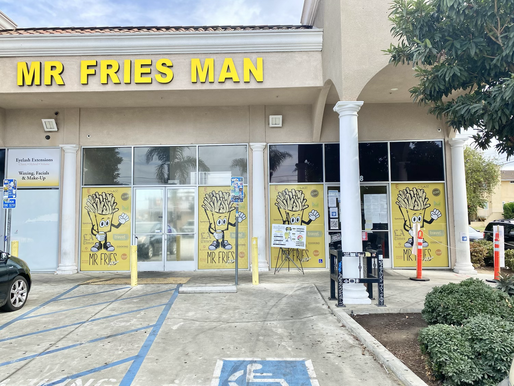 Mr Fries Man: Gardena, CA
