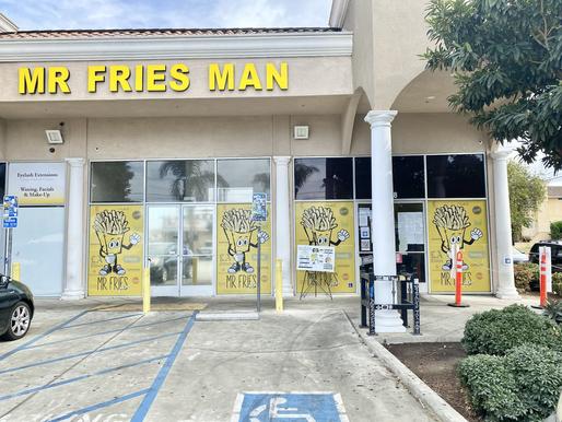 Mr Fries Man: Gardena, CA