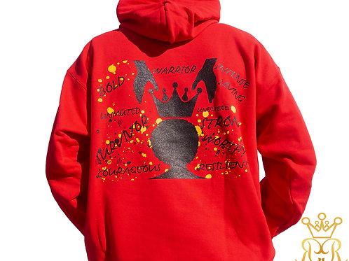 Crown Thyself Hoodie (Red)