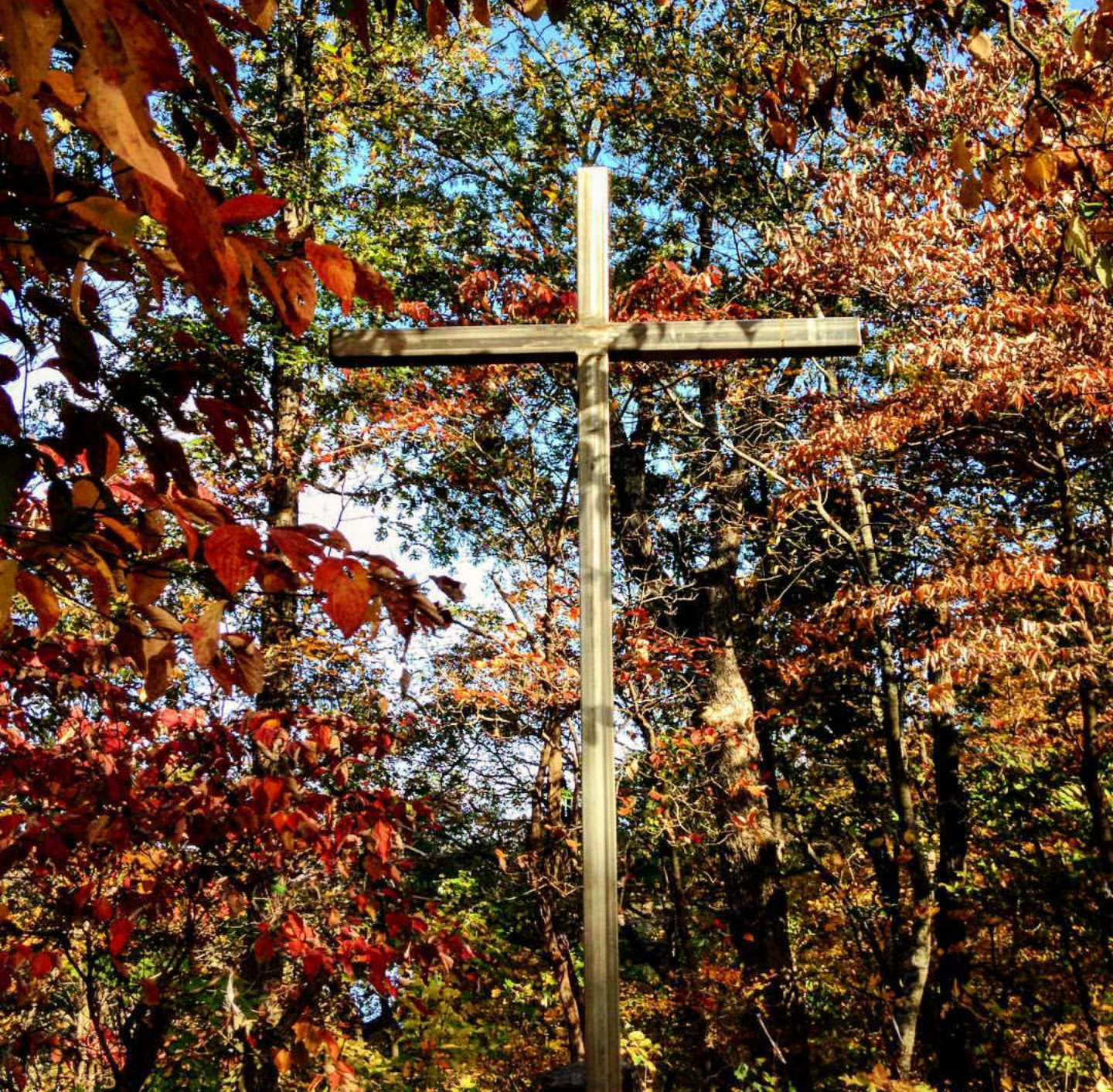 the cross on the bluff
