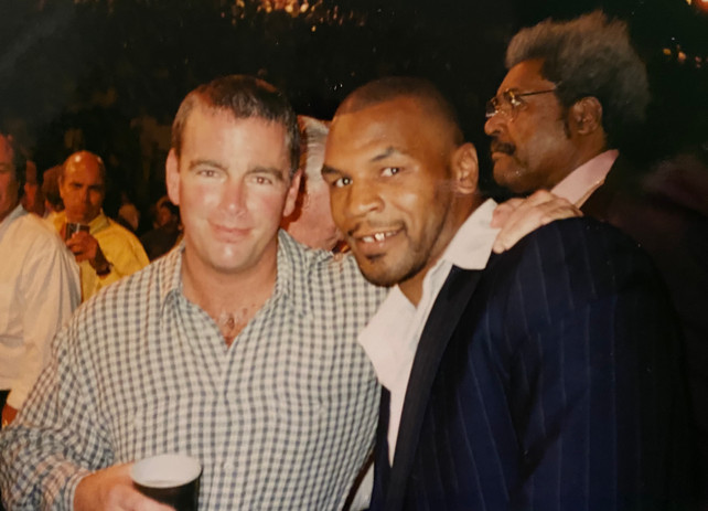 August Busch IV with Mike Tyson