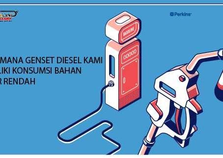Bagaimana Genset Diesel Kami Memiliki Konsumsi Bahan Bakar Rendah