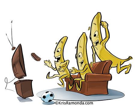 English idiom go bananas