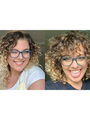 Curly cut & style