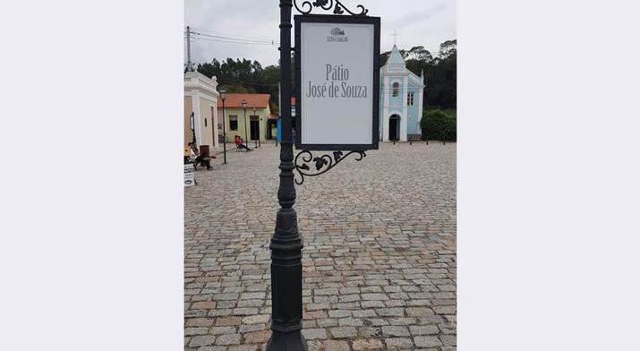 Pátio José de Souza da Vila de Luis Carlos
