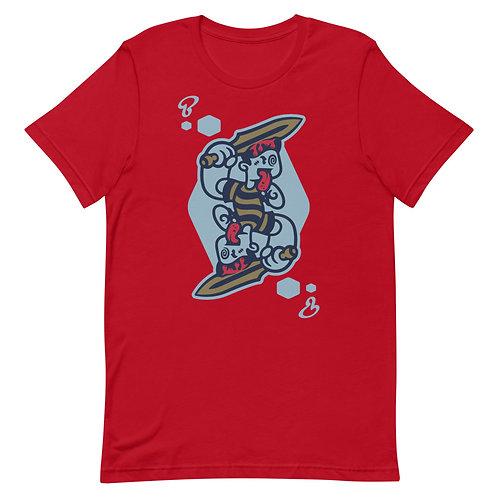 BoxHead Suicide King Premium Short-Sleeve Unisex T-Shirt