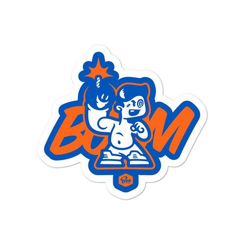 BoxHead Boom Blue Stickers