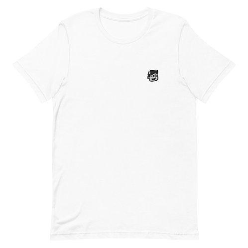 BoxHead Dome Embroidered Premium Unisex T-Shirt