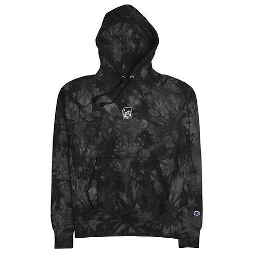 BoxHead Premium Embroidered Unisex Champion Tie-Dye Hoodie