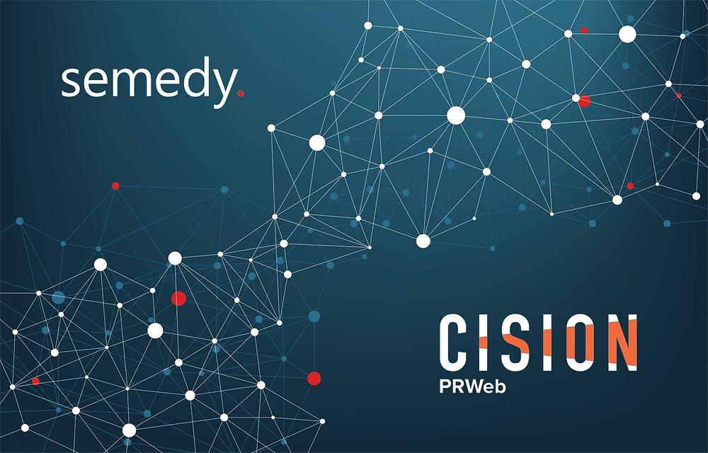 Semedy and Cision logo