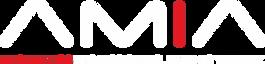 American Medical Informatics Association AMIA logo white