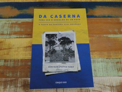 Livro que conta o cinquentenário do Iguaçu quer ajudar mudar a história de dependentes químicos