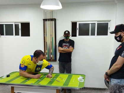 Iguaçu é campeão da Sul Minas de Futebol de Botão