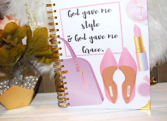 """August """"Style & Grace"""" Journal"""