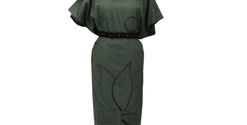 Khaadi Lotus shift dress